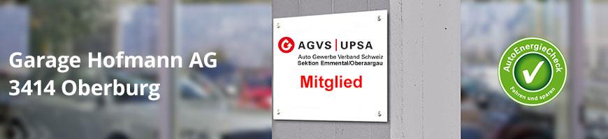 Garage Hofmann AG, 3414 Oberburg - AGVS Sektion Emmental/Oberaargau