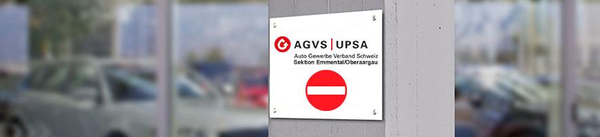 Login-Seite, bitte anmelden – AGVS Sektion Emmental/Oberaargau